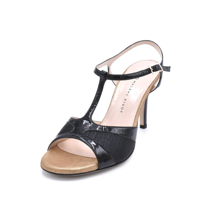Twila 2P - Black Patent-Madame Pivot- Axis Tango - Best Tango Shoes