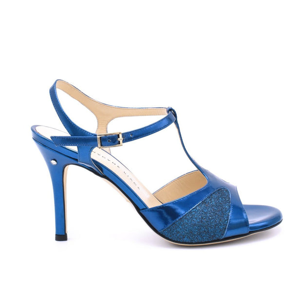 Twila 2P - Blue Glitter-Madame Pivot- Axis Tango - Best Tango Shoes