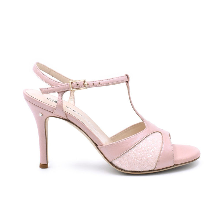 Twila 2P - Pink Glitter-Madame Pivot- Axis Tango - Best Tango Shoes