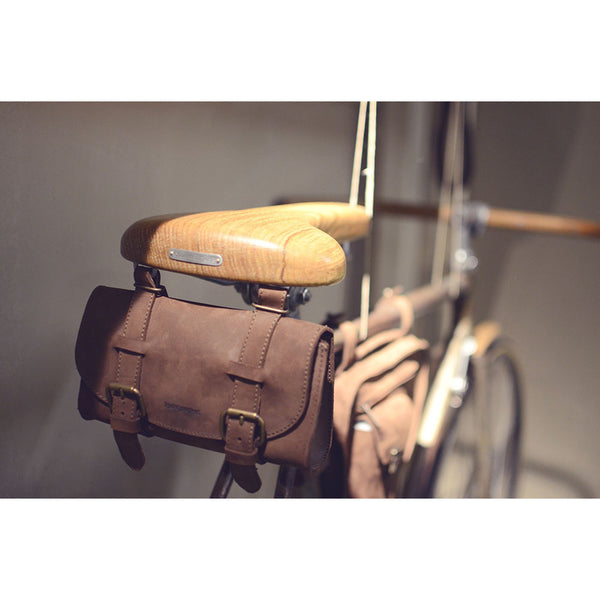 Kjore Project Leather Bicycle Saddle Bag - GL Shops