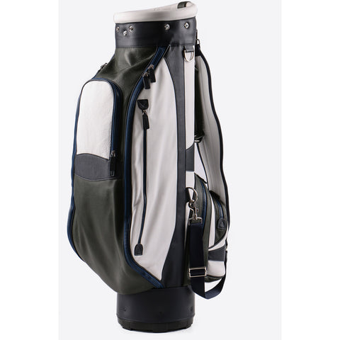 Terrida-Atleta Green Leather Golf Bag - GL Shops