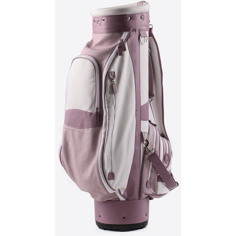Terrida-Atleta Pink Leather Golf Bag - GL Shops