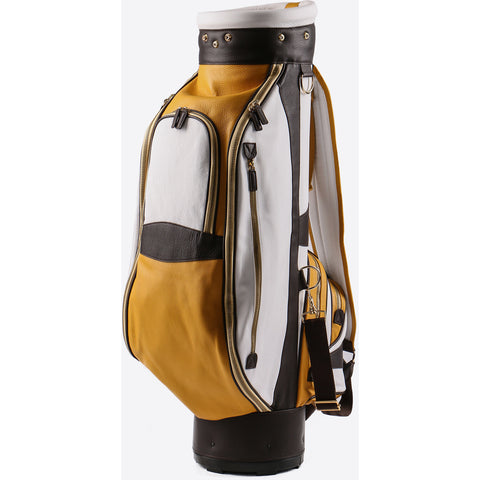 Terrida-Atleta Yellow Leather Golf Bag - GL Shops