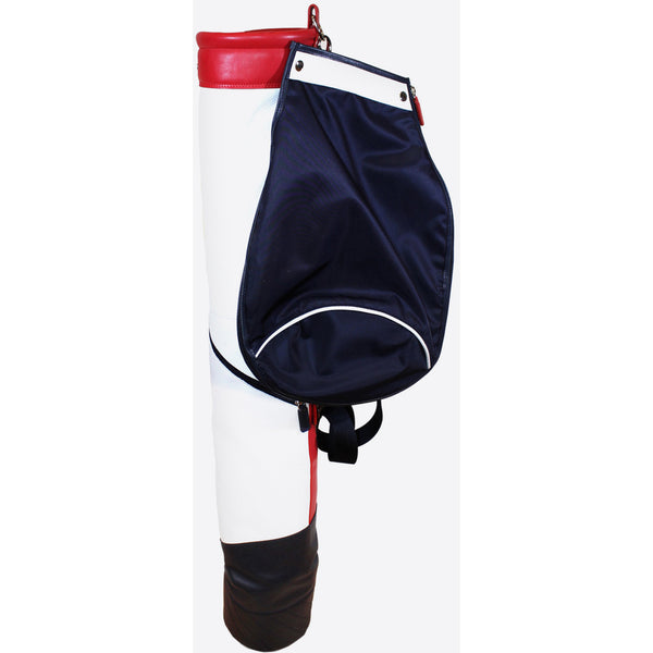 Terrida-Atleta Soft Red Leather Golf Bag - GL Shops