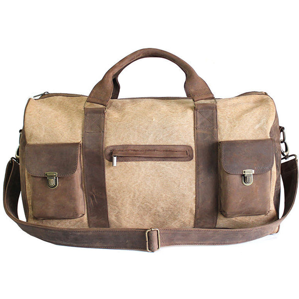 Kjore Project Leather/Canvas Travel Bag - GL Shops
