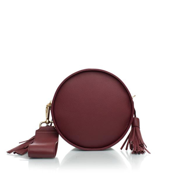 Gaudi Orb Shoulder Bag in Bordeaux