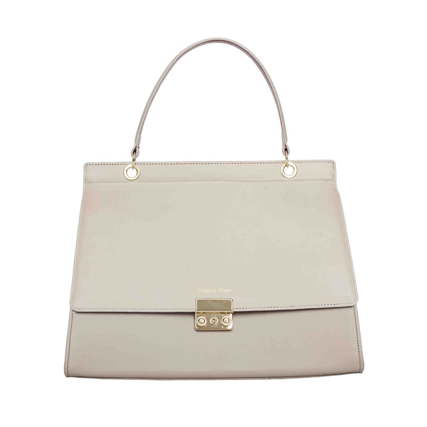Clemence Flane Clemence Flane Rogelia Handbag in Ivory - GL Shops