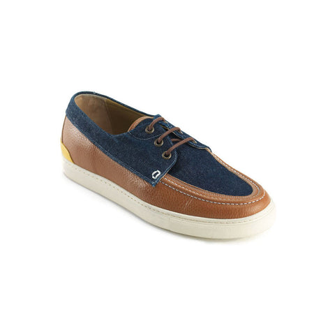 Sea Camel & Raw Denim Boat Shoes