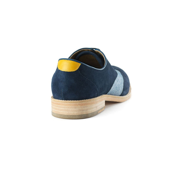 Dandy Blue & Chambray Oxford