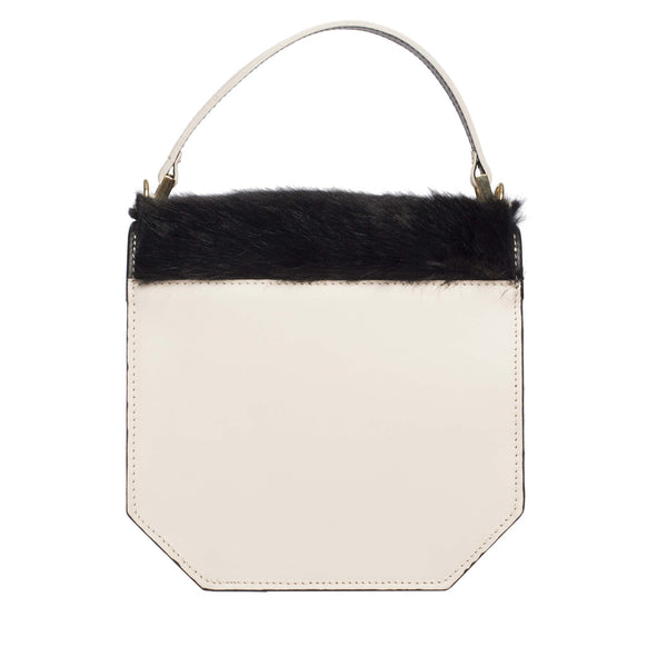 Clemence Flane Clemence Flane Clementina Handbag in Ivory Mix - GL Shops