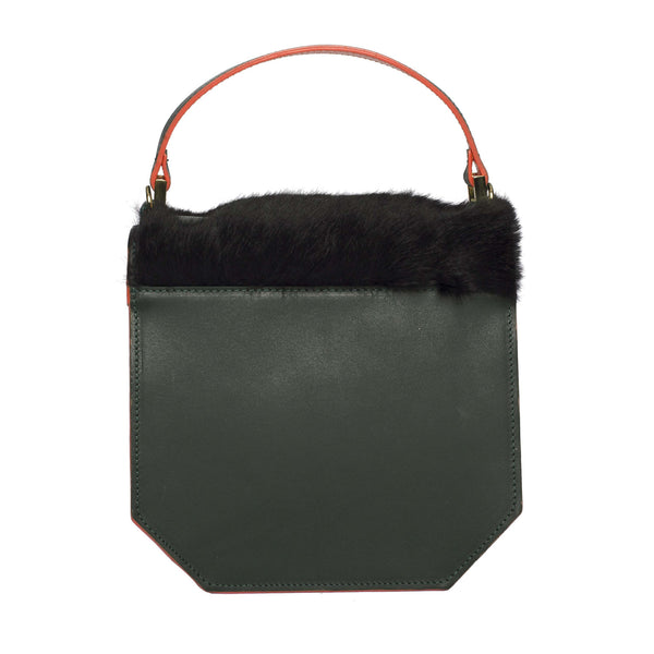 Clemence Flane Clemence Flane Clementina Handbag in Green Mix - GL Shops