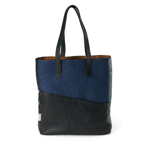 Easy Tote in Brut & Denim
