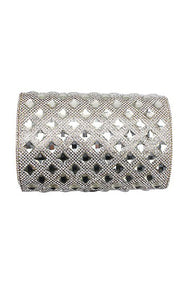 Diamond Stone Evening Clutch Bag