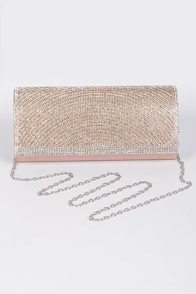 Rose Diva Ladylike Sparkle Clutch