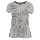 Women's Floral Short Sleeve Tee
