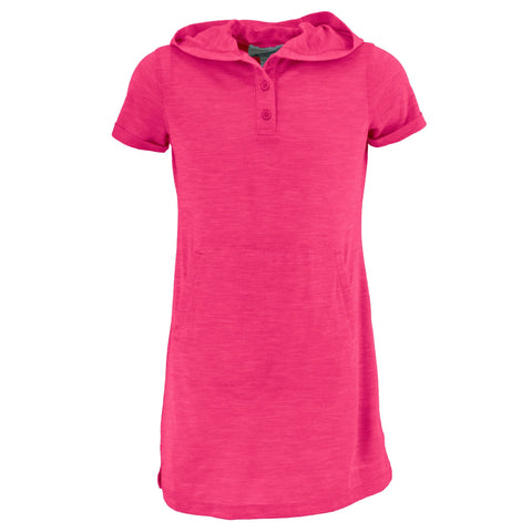 Girl's Bug Free Hooded Short Sleeve Dress - SALE