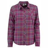 Women's Wildwood Plaid Shirt - White Sierra