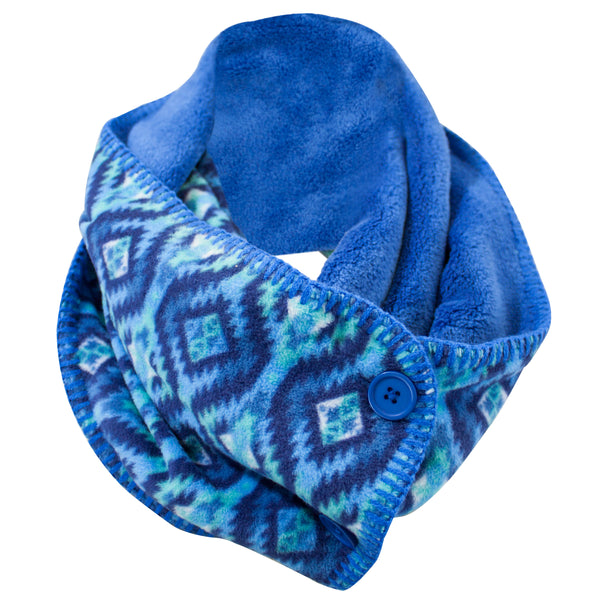 Women's Cozy Fleece Infinity Scarf
