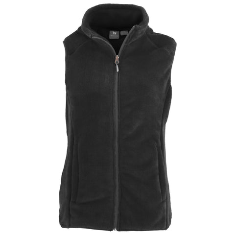 Women's Cozy Fleece Vest - 1X, 2X, 3X