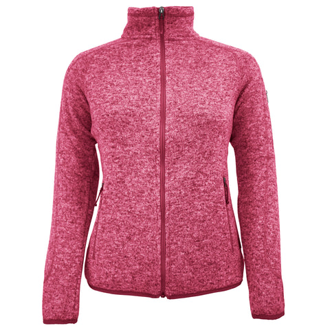Women's Sierra Sweater Fleece Jacket - 1X, 2X, 3X