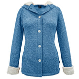 Women's Sierra Sweater Fleece Hooded Jacket