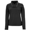 Women's Blacktail Fleece Snap-Neck Pullover - White Sierra