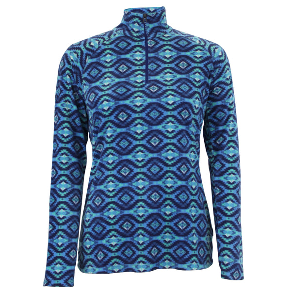 Women's Alpha Beta Quarter Zip - Printed