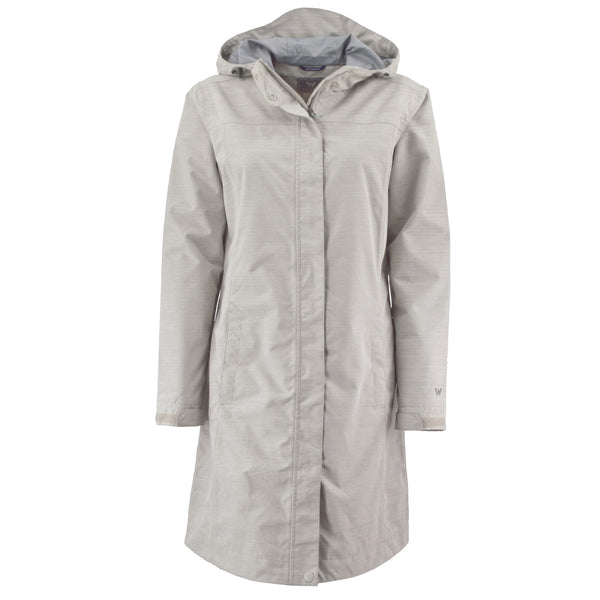 Women's Global Trench - White Sierra