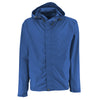 Malibu Blue Rain Jacket with Back Vent