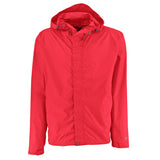 Racing Red Rain Jacket with Back Vent