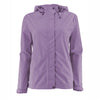 Women's Trabagon Rain Jacket - White Sierra - Grape