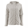 Women's Trabagon Rain Jacket - White Sierra - Silver Grey