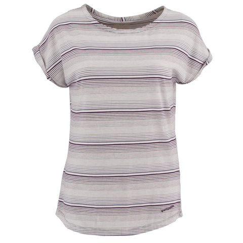 Women's Odor Free Day Tour Striped Tee