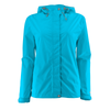 Women's Trabagon Rain Jacket - White Sierra - Horizon Blue