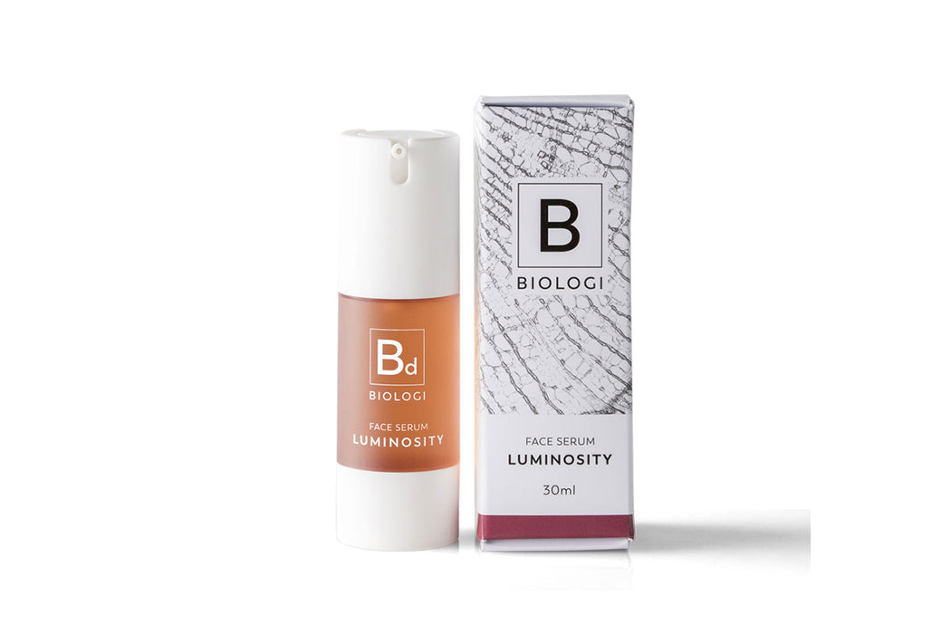 BIOLOGI Bd - Luminosity Face Serum Bottle & Box