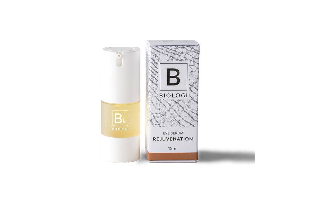 BIOLOGI Bk - Rejuvenation Eye Serum Bottle & Box