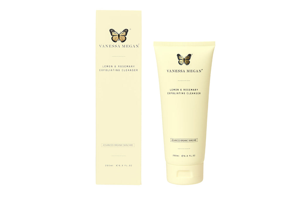 Vanessa Megan Lemon and Rosemary Exfoliating Cleanser