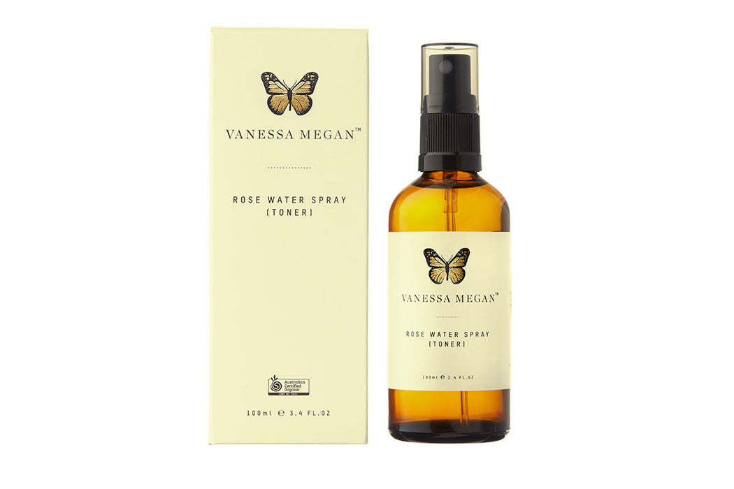 Vanessa Megan Rose Water Spray