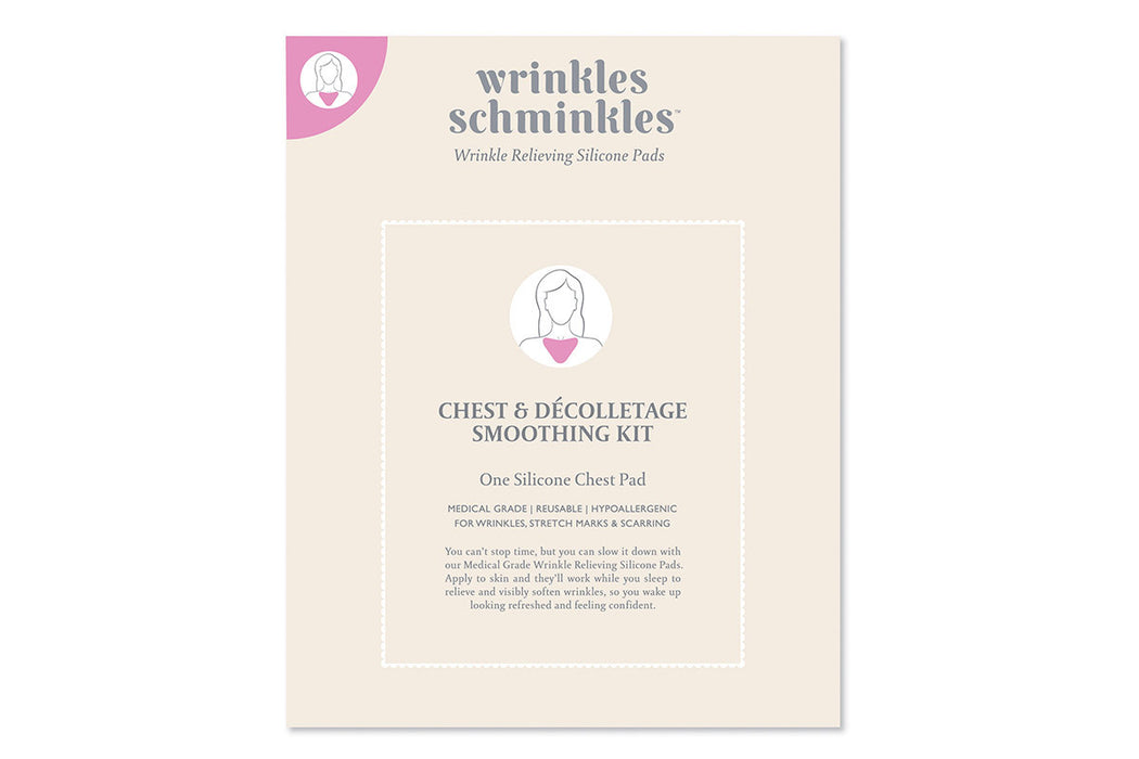 Wrinkles Schminkles Chest Smoothing Kit Packaging