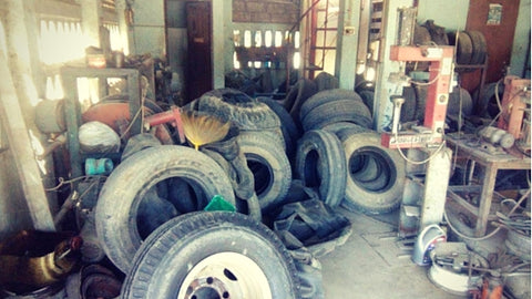 End of Life Tyres are a Latent Resource