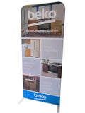 Portable Support Stand System for Straight Fabric Tube Wall Backdrop / Banner