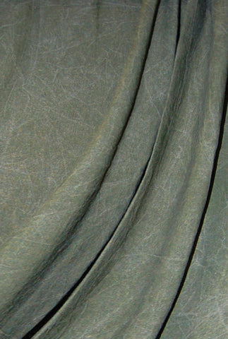 Savage Forest Green Washed Muslin Backdrop