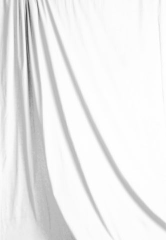 Solid White Muslin Photography Backdrop