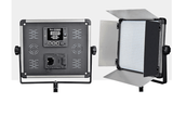 2 Head 2000W Bi Colour Led Video Light Equipment Kit with Chromakey Backdrop And Support System