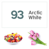 Fotolux Arctic White Seamless Paper Background (2.71m x 11m)