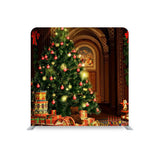 Christmas Room Decoration STRAIGHT TENSION FABRIC MEDIA WALL