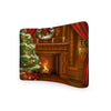Chimney Christmas  CURVED TENSION FABRIC MEDIA WALL