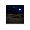 Christmas Bethlehem Night Scene STRAIGHT TENSION FABRIC MEDIA WALL