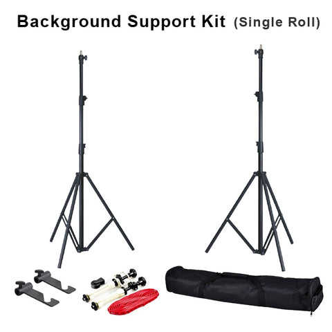 Backdrop Stand with Single Mount Chain Setup