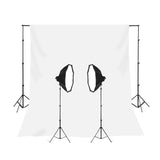 2 Head Powerful 5 Lamp Video Light Kit with Backdrop